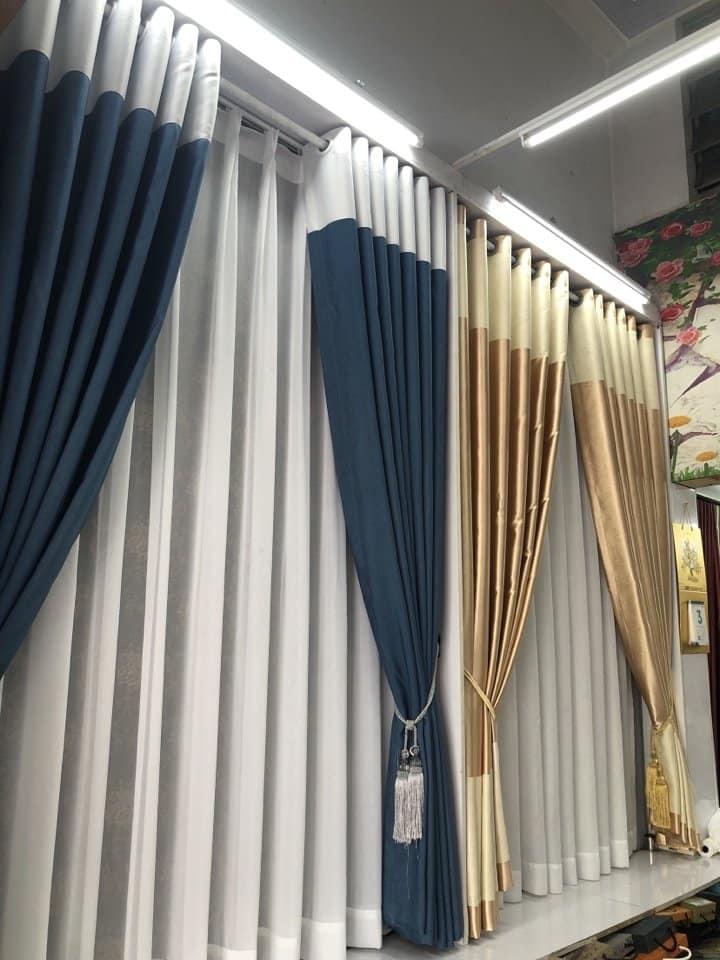 mẫu rèm cửa hiện đại chung cư