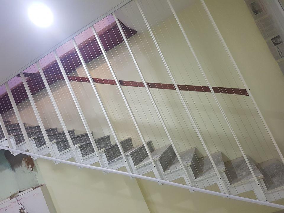 lưới cáp cầu thang quận tân phú